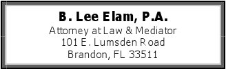B. Lee Elam